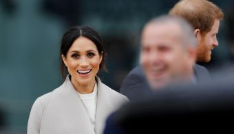 Meghan Markle in princ Harry. FOTO: Reuters