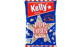 Kelly's Popcorn salted 90 g FOTO: Intersnack d.o.o.
