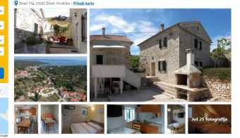 Na spletni strani booking oddaja Stone house Vrtli.