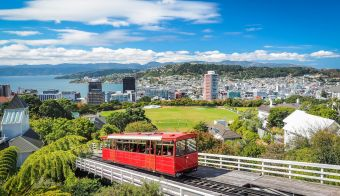The most famous landmark in Wellington. FOTO: Robert Chang Getty Images/istockphoto