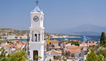 Orthodox Church on Samos in Greece FOTO: Getty Images/istockphoto