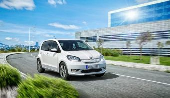 Mestni malček citigo-e iV bo Škodin prvi popolnoma električni avtomobil. FOTO: Škoda