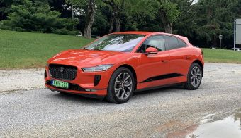 Jaguar i-pace je že lep čas na voljo tudi v Sloveniji – vstopna različica S bo stala od 79.962 evrov. Fotografije: Blaž Kondža
