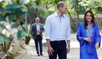 William in Kate v Pakistanu. FOTO: Reuters Pictures