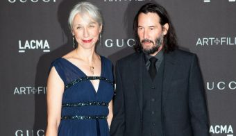 Alexandra Grant in Keanu Reeves. FOTO: Faye's Vision/cover Images