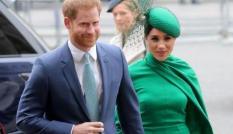 Princ Harry in Meghan Markle. FOTO: Getty Images