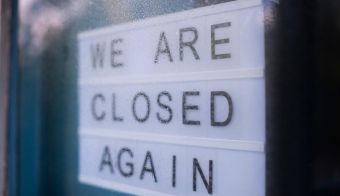 We Are Closed Again. FOTO: Mikhail Shirokov / Shutterstock FOTO: Mikhail Shirokov