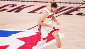 Goran Dragić se je veselil. FOTO: Kim Klement, Usa Today Sports